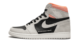 Nike Air Jordan 1 Neutral Grey Hyper Crimson