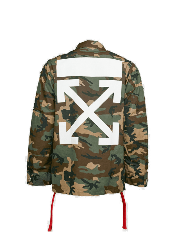 Off White Field Camo Jacket