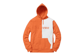 Supreme Split Old English Hoodie