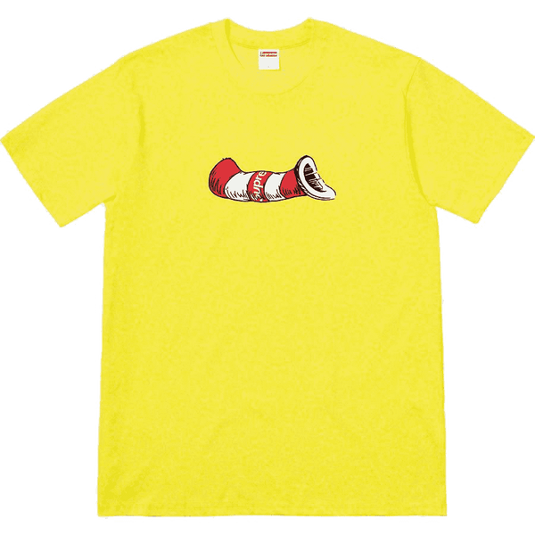 "Supreme ""Cat in the Hat"" Tee"