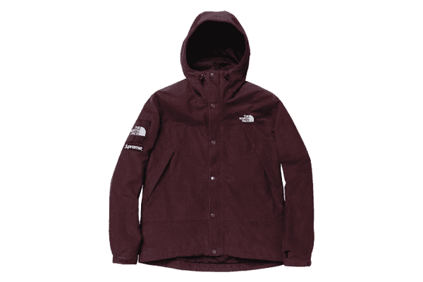Supreme x The North Face Burgundy Corduroy Mountain (2012)