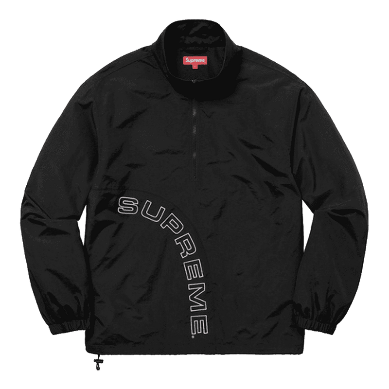 Supreme Corner Arc Half Zip Windbreaker