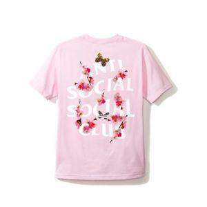 Anti Social Social Club Flowers Tee