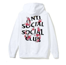 Anti Social Social Club Flowers zip up Hoodie