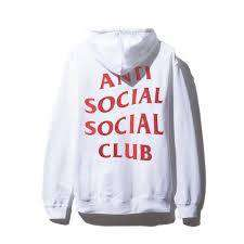 "Anti Social Social Club ""From Asia with Love"" Hoodie"
