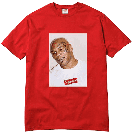 Supreme Red Mike Tyson Photo Tee (2007)