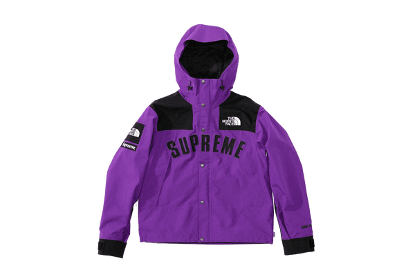 Supreme x The North Face S/S19 Jacket Purple