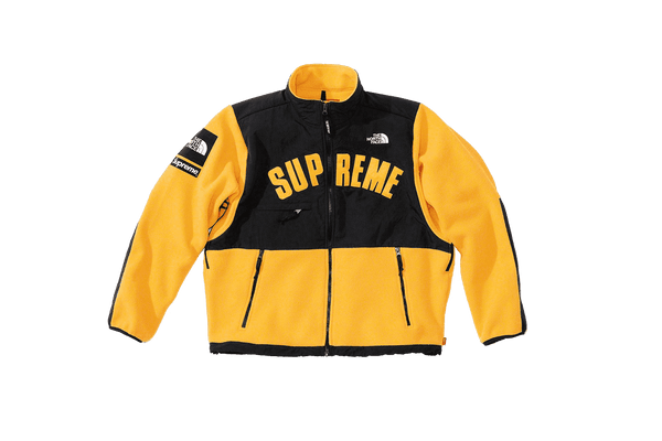 Supreme x The North Face S/S19 Fleece-Jacket Yellow