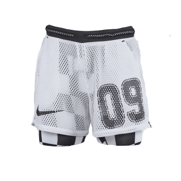 Off White x Nike White Shorts