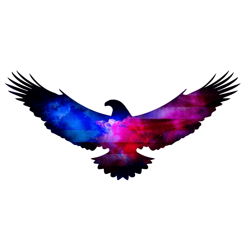 Clouded Eagle Temporary Tatoo Design. Tags: Festival, Animals, , , Unisex, Color, New