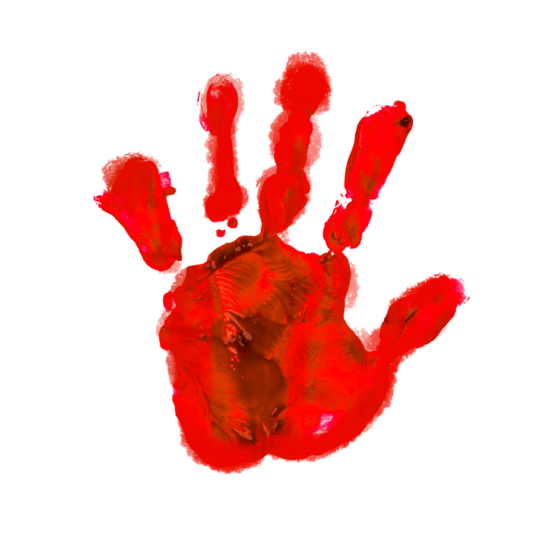 Blood Hand Temporary Tatoo Design. Tags: Abstract, People, Halloween, , Unisex, Color, New