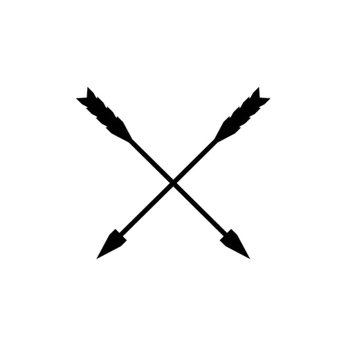 Crossed Arrows Design InkDaze_JoseBorromeo