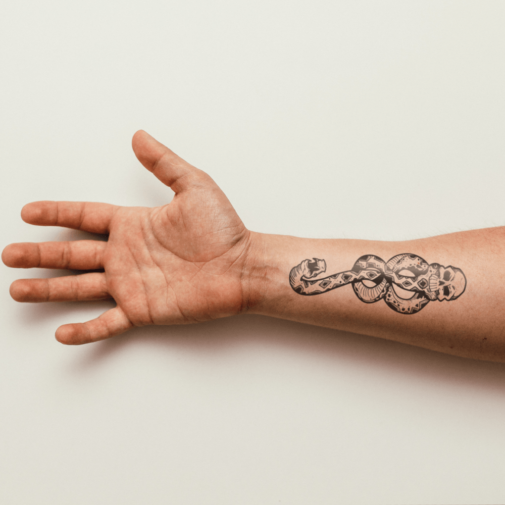 Harry Potter Death Eater - People Temporary Tattoo | Ink Daze