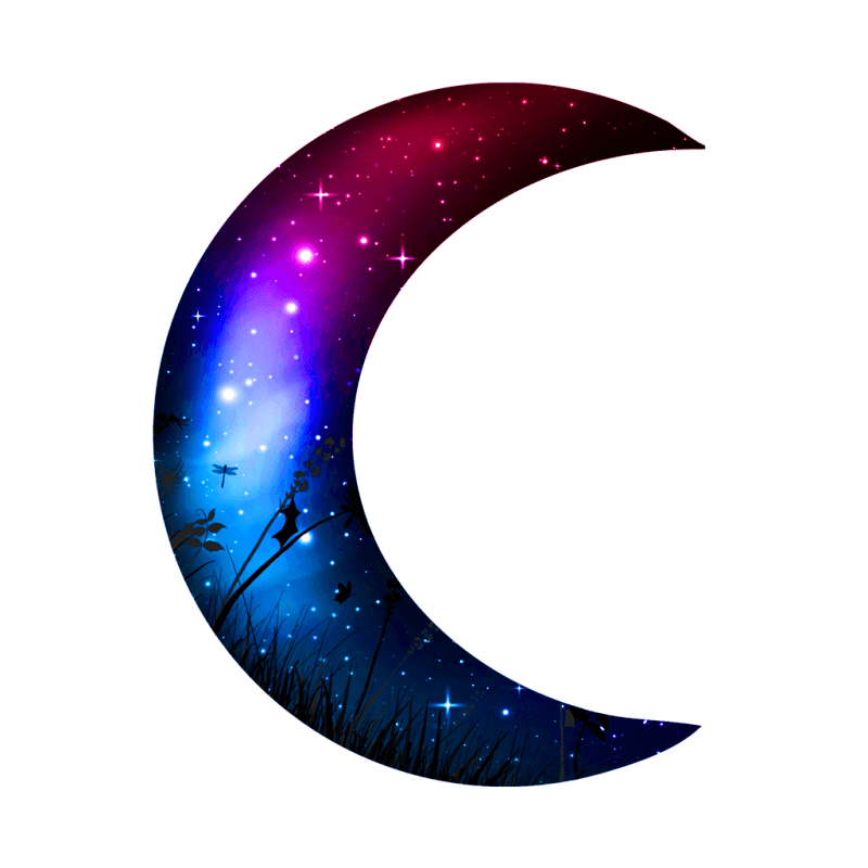 Galactic Moon Temporary Tatoo Design. Tags: Festival, Nature, , , Unisex, Color, New