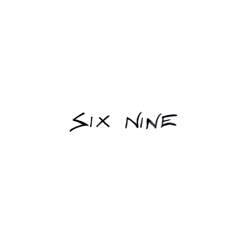 T Six Nine Temporary Tatoo Design. Tags: Text, People, , , Unisex, Black and White, New