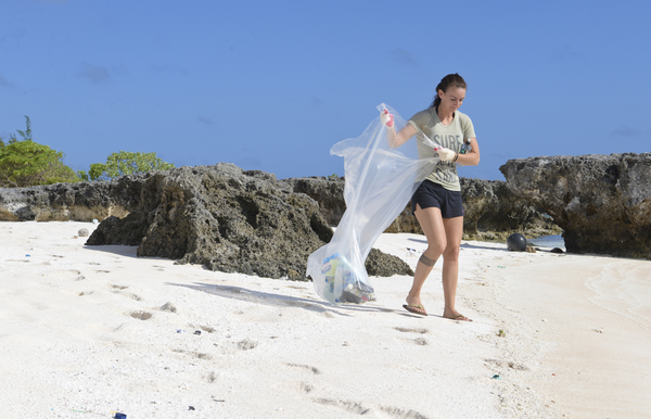 Beach Clean Up NRDC