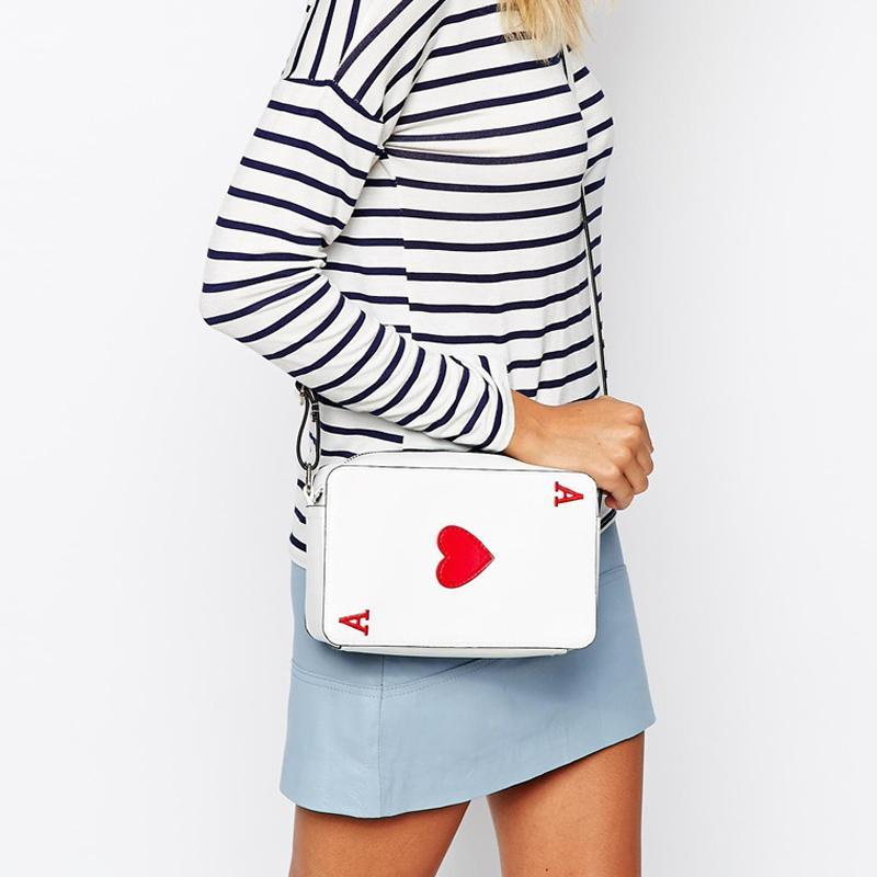 Ace of Hearts Women's Crossbody Handbag - TmrwsBig