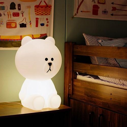 Brown from Line Friends Lamp - TmrwsBig