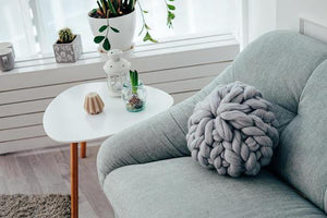 Chunky Merino Wool Pillow - TmrwsBig