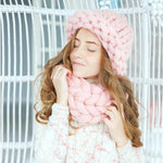 Chunky Merino Wool Winter Hat - TmrwsBig