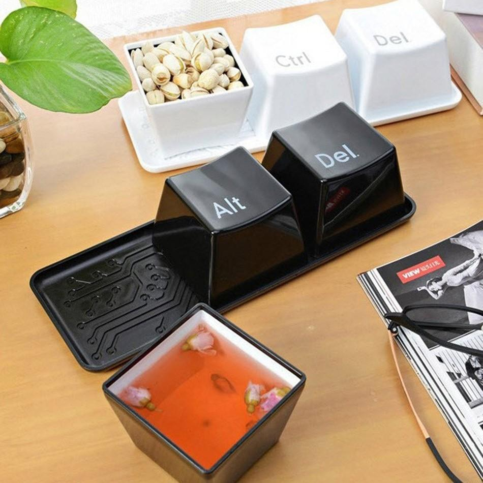 Ctrl-Alt-Del Keyboard Key Cups Set - TmrwsBig