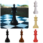 "Décor King Chess Piece 8"" / Black TmrwsBig"