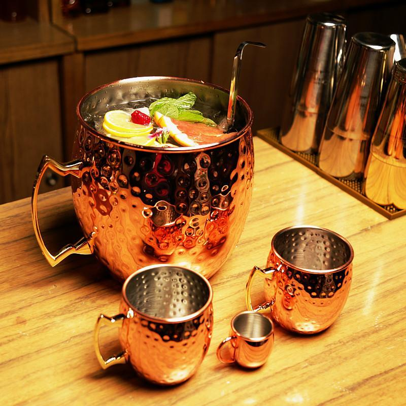 Giant Moscow Mule Mug Pitcher & Ice Bucket Default Title TmrwsBig