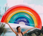 Jumbo Rainbow 🌈 Pool Float Default Title TmrwsBig
