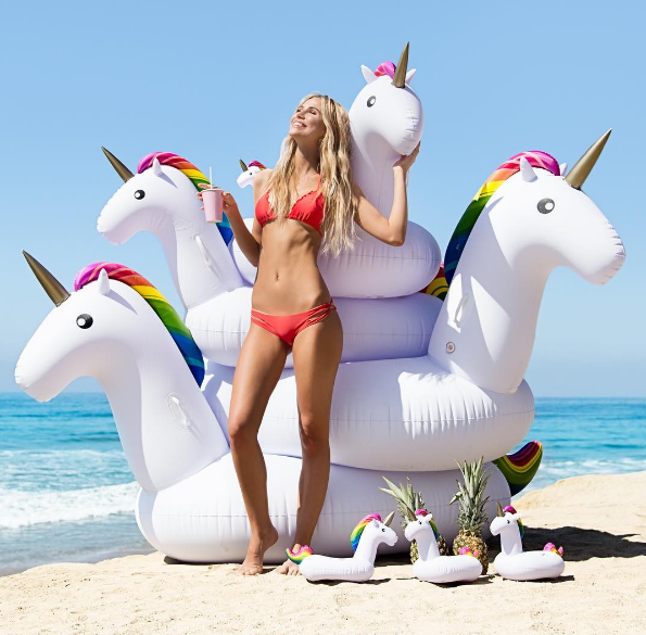 Jumbo Unicorn 🦄 Pool Float Default Title TmrwsBig