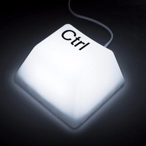 Keyboard Key Night Light White / Shift Bulbs TmrwsBig