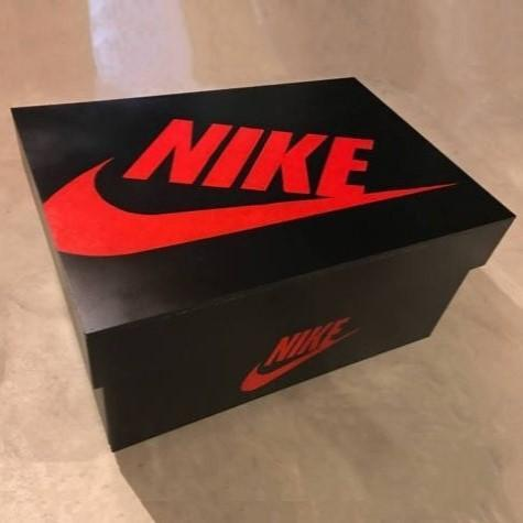 Nike Jordan 1 Shoe Chest - 1985 Black & Red 12 Pair TmrwsBig