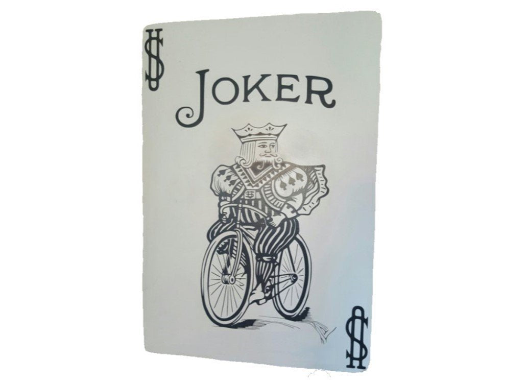 Supersized Décor Playing Cards Joker / Diamonds / Standard (Diamond or Heart=Red // Club or Spade=Black) TmrwsBig