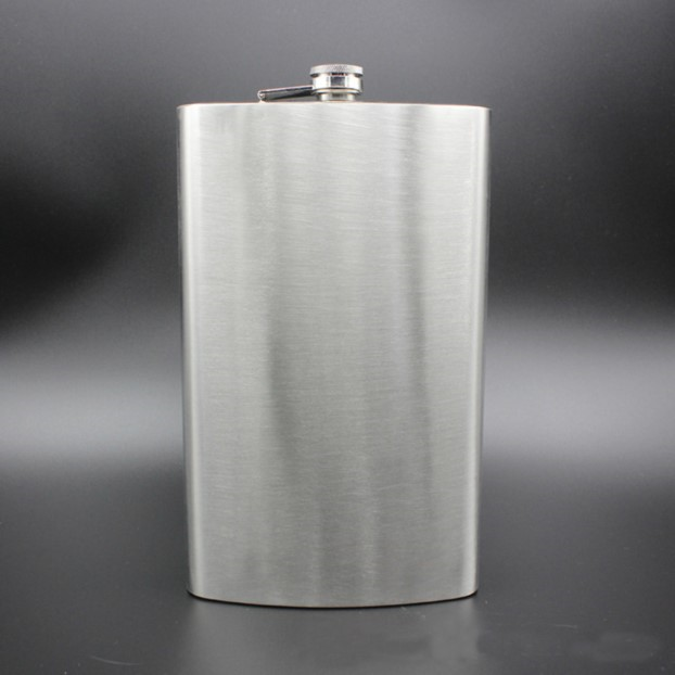 Supersized Hip Flask 18oz TmrwsBig
