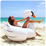 Supersized Swan Pool Float Default Title TmrwsBig