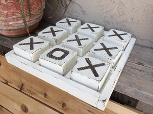 Supersized Tic Tac Toe Board Dark Brown / Dark Brown / Dark Brown TmrwsBig