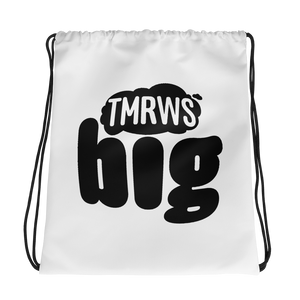 TmrwsBig Drawstring Bag Default Title Merchandise TmrwsBig