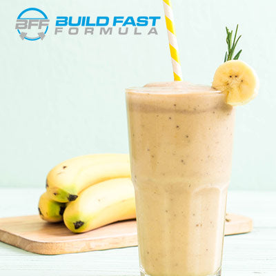Build Fast Formula EIGHTY:20 Banana Protein Smoothie