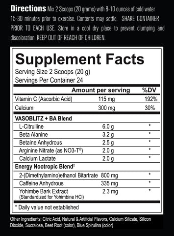 Protein supplement facts