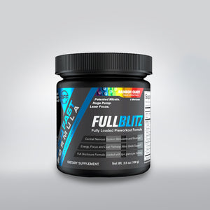 Build Fast Formula FULLBLITZ Rainbow Candy 100g 5 Servings