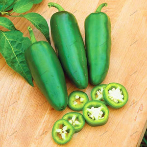 200Pcs Jalapeno Chile Pepper Seeds Non Gmo Heirloom Vegetable Seeds for Plant Decor