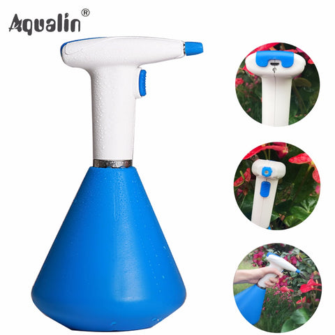 New Arrival Garden 1L  Electric Sprayer Adjustable Pneumatic Sprayer Lithium Portable Pressure Watering Pot #23803