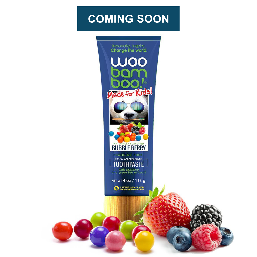 Eco-Awesome Tooth Paste (Bubble Berry - Kids)