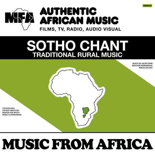 Music from Africa vol.2 : Shangaan Traditional / Sotho Chant