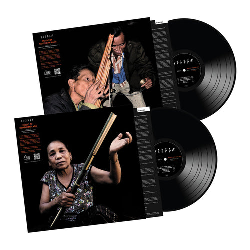 Music Of Southern Laos + Music Of Northern Laos (Bundle 2XLP)