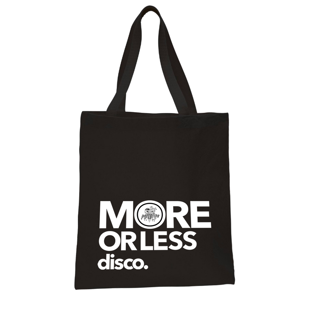 Tote Bag - More or Less Disco