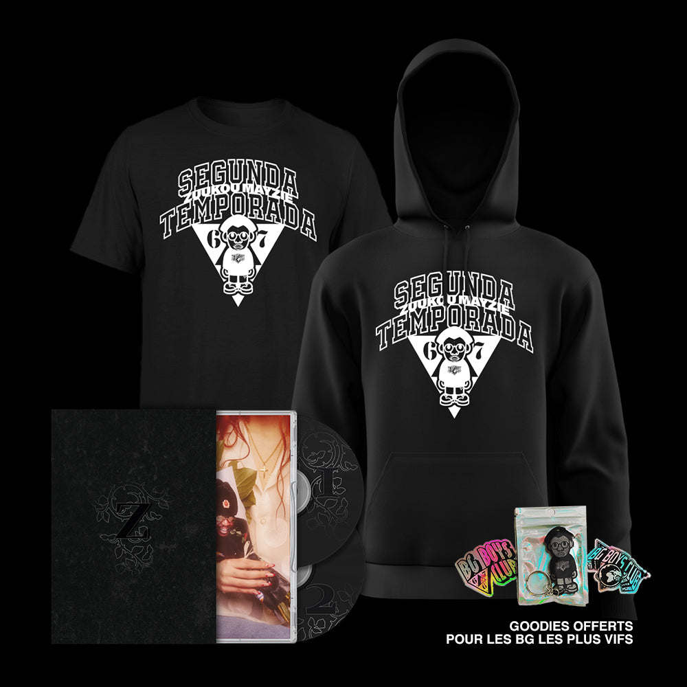 Coffret Collector S01/S02 + T-shirt & Hoodie Collector