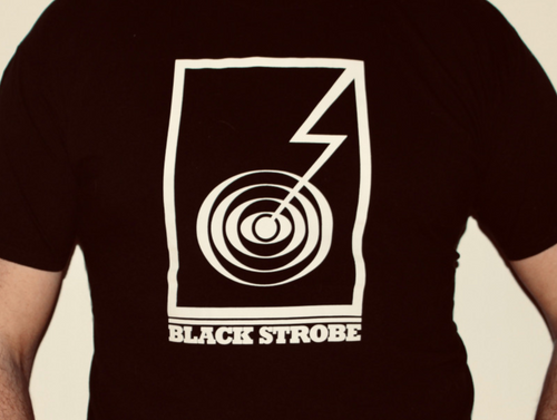 Blackstrobe Records Logo - T-Shirt