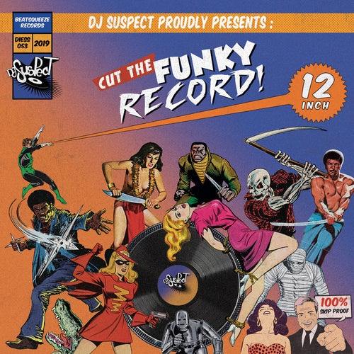Cut The Funky Record 12