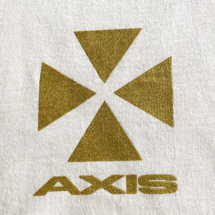 Axis DIY Logo T-shirt (White)