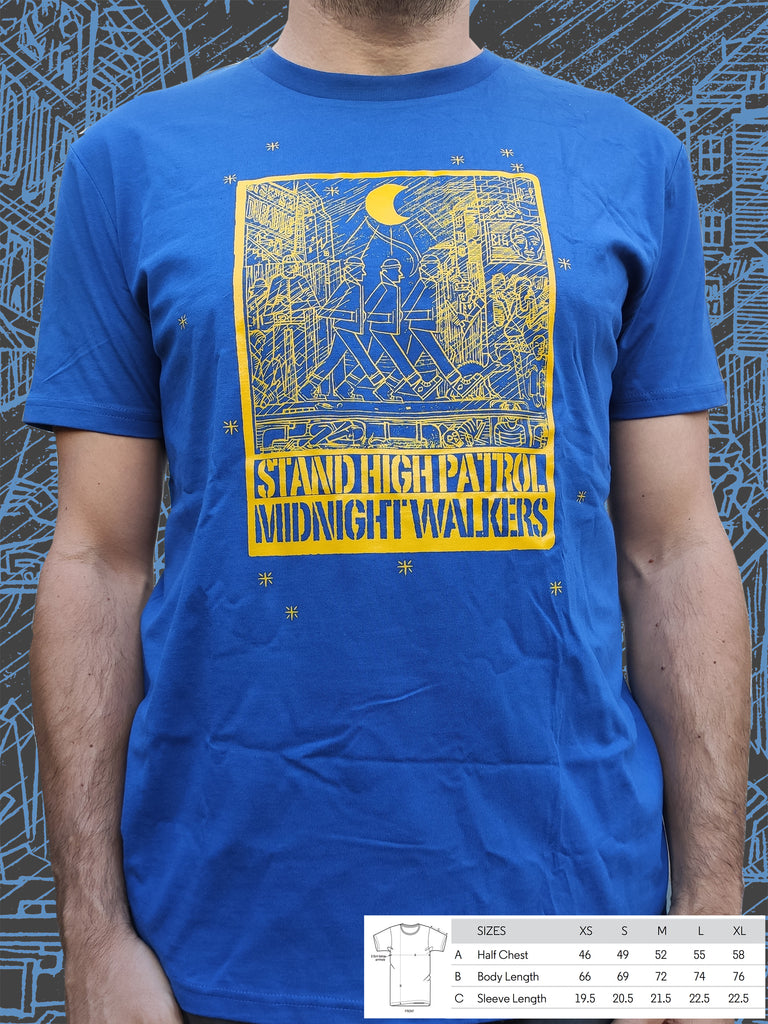 T-shirt bio unisexe Midnight Walkers